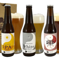 ホップジャパン地ビール(田村市産ホップ)6本飲み比べセット(3種×各2本)