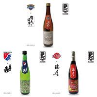 [3本セット] 広島・福岡・熊本 -Collaboration with JI-ZA-KE-