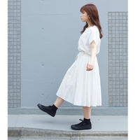 【ストック分再販】▶︎はれうみスカート (white)