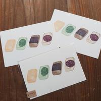 おもちポストカード(3枚セット)
