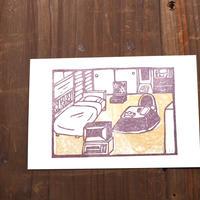 おばあちゃんの部屋 ポストカード(1枚)