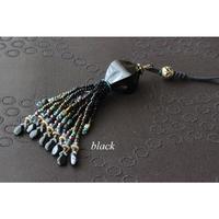 帯飾り*Water buffalo(black)
