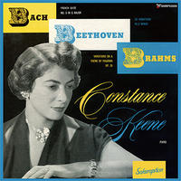 Constance Keene plays BACH, BEETHOVEN & BRAHMS (This is Digital Item)