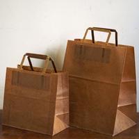 蝋引紙袋  手提型  小