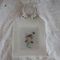 Flower PVC Bag   ●White●1