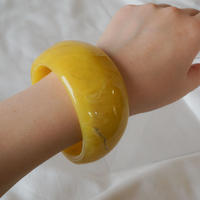 【Select Item】Acrylic Bangle -Yellow-