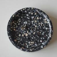 【Select Item】Terrazzo Plate -Black-