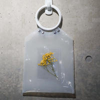 Flower PVC Bag  ●White●   -7/6までに発送分-
