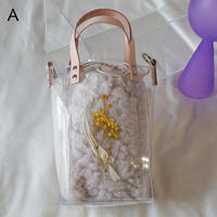 Flower Fur Bag  ●Ivory●  A~E