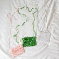 【Select Item】Beads Mini  Pochette