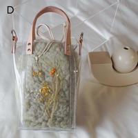 Flower Fur Bag  ●Green●