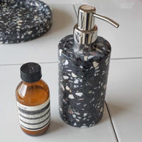 【Select Item】Terrazzo  Soap Dispenser -Black-