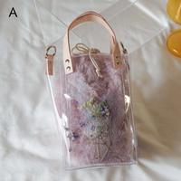 Flower Fur Bag  ●Pink●  A~E