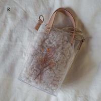 Flower Fur Bag  ●Ivory● 2