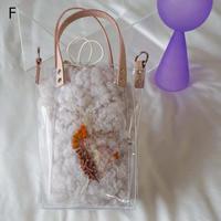 Flower Fur Bag  ●Ivory●  F~J