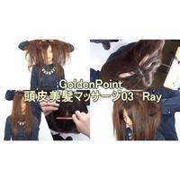 GoldenPoint 頭皮美髪マッサージ03 Ray【HD高画質】