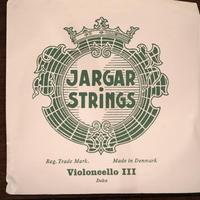 JARGAR ヤーガーチェロ弦 3番線 Dolce