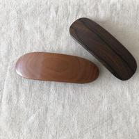 kostkamm /wood   hair baretta / 10cm/ コストカム/木製バレッタ/10cm