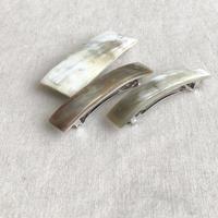 kostkamm / horn hair clip 8cm /9533 /  コストカム / 水牛角ヘアーバレッタ/8cm