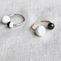 juju made /porcelain pearl ring  /ジュジュメイド/ ポーセリンリング