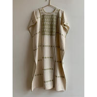 pips ropa / plainly woven cotton Amuzugo huipil ( green )