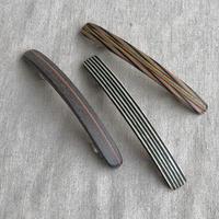 Kostkamm / wood hair clip extra slender shape 6cm