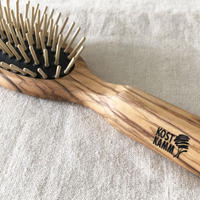 kostkamm /olive wood   hair Brushes / 17.5cm/ コストカム/オリーブ ブラシ/17.5cm