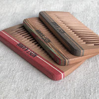 kostkamm /mini pocket comb / 8cm / wide / 19b / コストカム/木製櫛/8cm