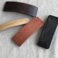 kostkamm /wood   hair baretta / 8cm / 9503 / コストカム/木製バレッタ/8cm