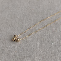 cinq / galaxy necklace / 14 k gold