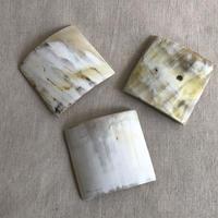 kostkamm / horn hair clip square  / 6cm / 9539 / コストカム / 水牛角ヘアーバレッタ/ 四角6cm