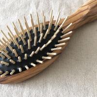 kostkamm /olive wood   hair Brushes / 17.5cm / 4527 /  コストカム/オリーブ ブラシ/17.5cm