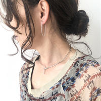 cinq / Embrace neck cuff / silver / シンク /ネックカフ /シルバー