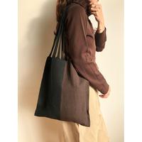 pips / cotton handwoven hammock bag / black /Brown  / ピップス / コットン ハンモックバッグ