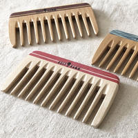 kostkamm / mini hair comb / 9cm / extra wide /21b /  コストカム/木製櫛/9cm