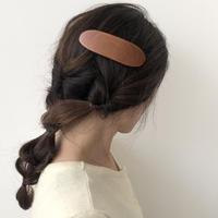 kostkamm /wood   hair baretta / 10cm / 9501 / コストカム/木製バレッタ/10cm