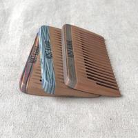 kostkamm /mini pocket comb / 8cm / wide / 19b / コストカム/木製櫛/8cm