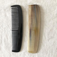 Kostkamm / Horn hairdressing  comb / 19cm /wide -narrow / 20H / コストカム /水牛櫛
