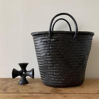 Cilantron / nylon mercado bag  / X Large size  / Black