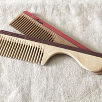 kostkamm /wood   hair comb / wide /  16cm / 7b /  コストカム/木製櫛/16cm