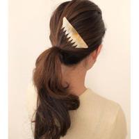 kostkamm / horn decorative comb  / 12x8 cm  / 9434 /  コストカム / 水牛角簪