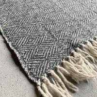 pips / wool hand woven  blanket  / ピップス / ブランケット