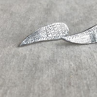 datter industries / wing earrings / silver / ダッターインダストリー/シルバーピアス