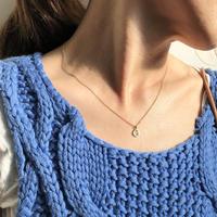 ishi jewelry / slice diamond  necklace / イシジュエリー / ダイヤモンド スライスネックレス