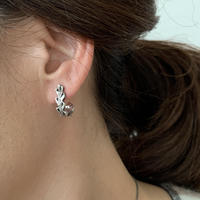 datter industries / laurel hoop  earrings / silver / ダッターインダストリー/シルバーピアス