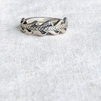 datter industry / laurel crown ring / ダッターインダストリー / シルバーリング
