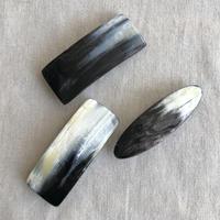 kostkamm / horn hair clip /  6cm / 9534 / コストカム / 水牛角ヘアーバレッタ/6cm