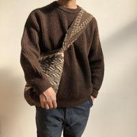 WAKAMU / mochila / natural wool bag