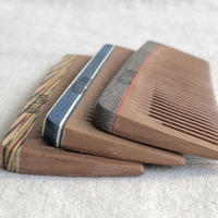 kostkamm / wood  pocket comb / 14cm / wide / 17b /  コストカム/木製櫛/14cm