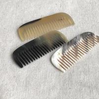 Kostkamm / pocket  comb / 8cm / wide /19H /  コストカム /水牛櫛